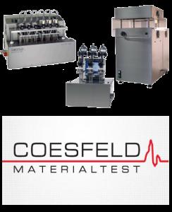 Equipos ensayos Vicat/HDT Coesfeld