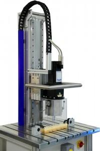 Maquina combinada axial y torsión TesT