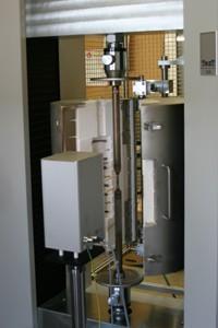 Horno de alta temperatura para ensayos de tracción-TesT