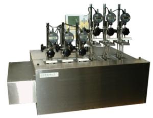 Ensayo plasticos Vicat-HDT Basic 6 Estaciones